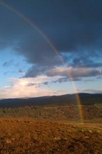 rainbow steepening