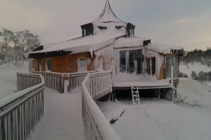 snowbound roundhouse