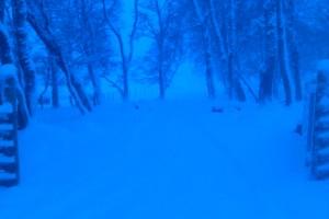 snowy gateway
